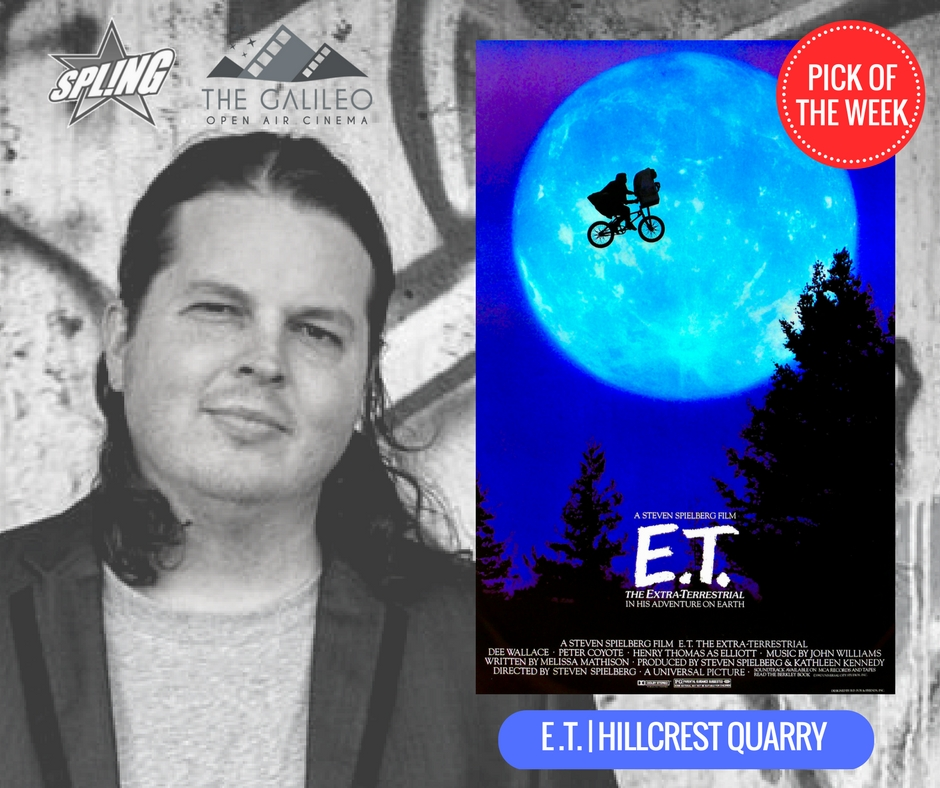 Spling's Pick of the Week - E.T. at Hillcrest Quarry