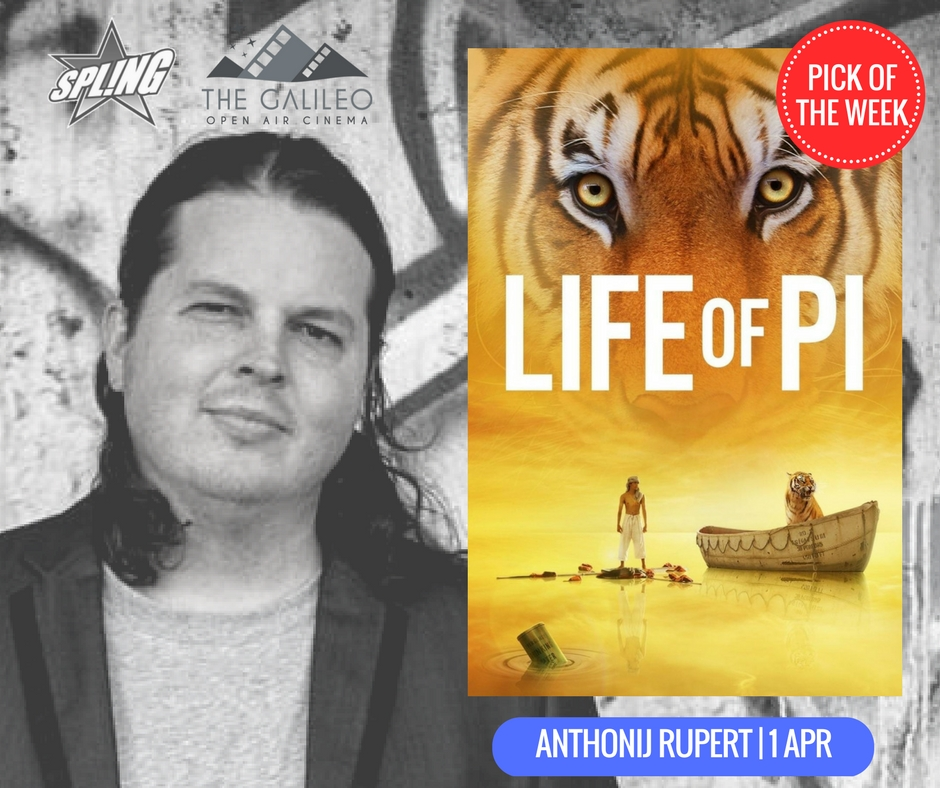 Spling's Pick of the Week - Life of Pi @ Anthonij Rupert Wine Estate